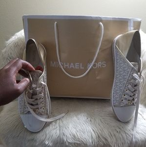 Brand New Authentic Gold & Cream (MKros) Sneakers